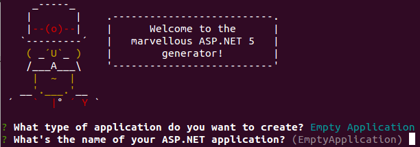 What's the name of your ASP.NET application?
